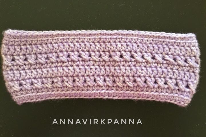 Mönster En Rosa Dröm Pannband / A Pink DreamHeadband