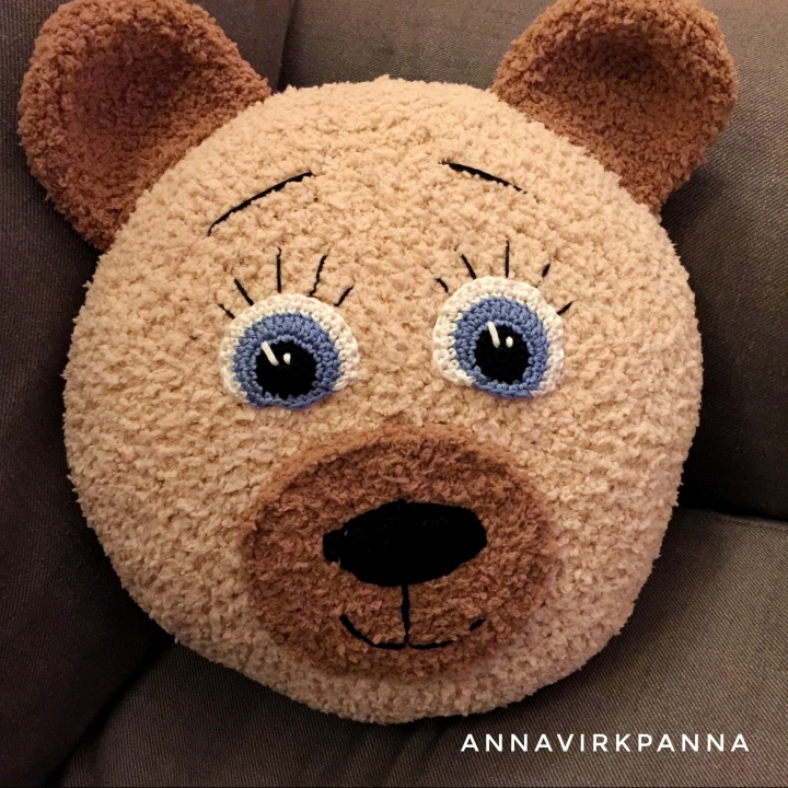 teddy pillow