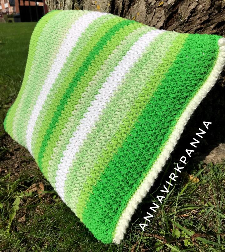 Mönster Soft n green kudde / Pattern Soft n greenpillow