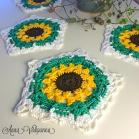 sunflower underlägg