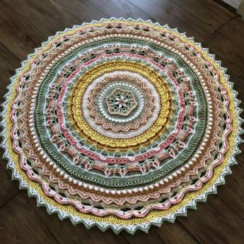 helena voxblom song of the forest unicorn mandala