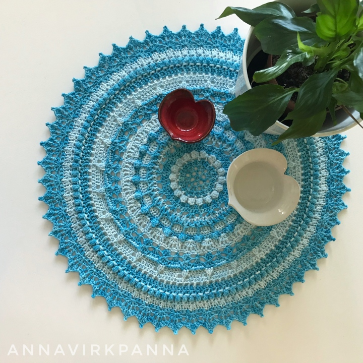 Go with the flow mandala