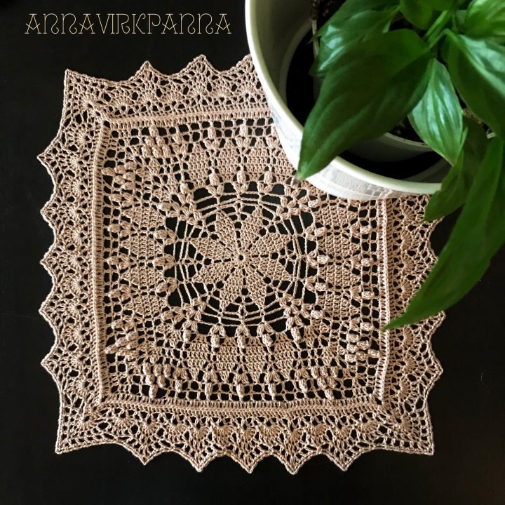 My Fair Lady doily