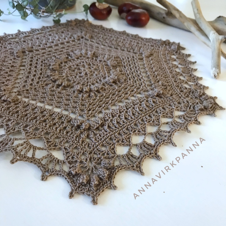 Madame Butterfly duk /doily
