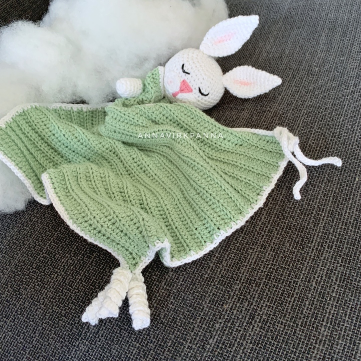 Kaninsnuse / Bunny securityblanket